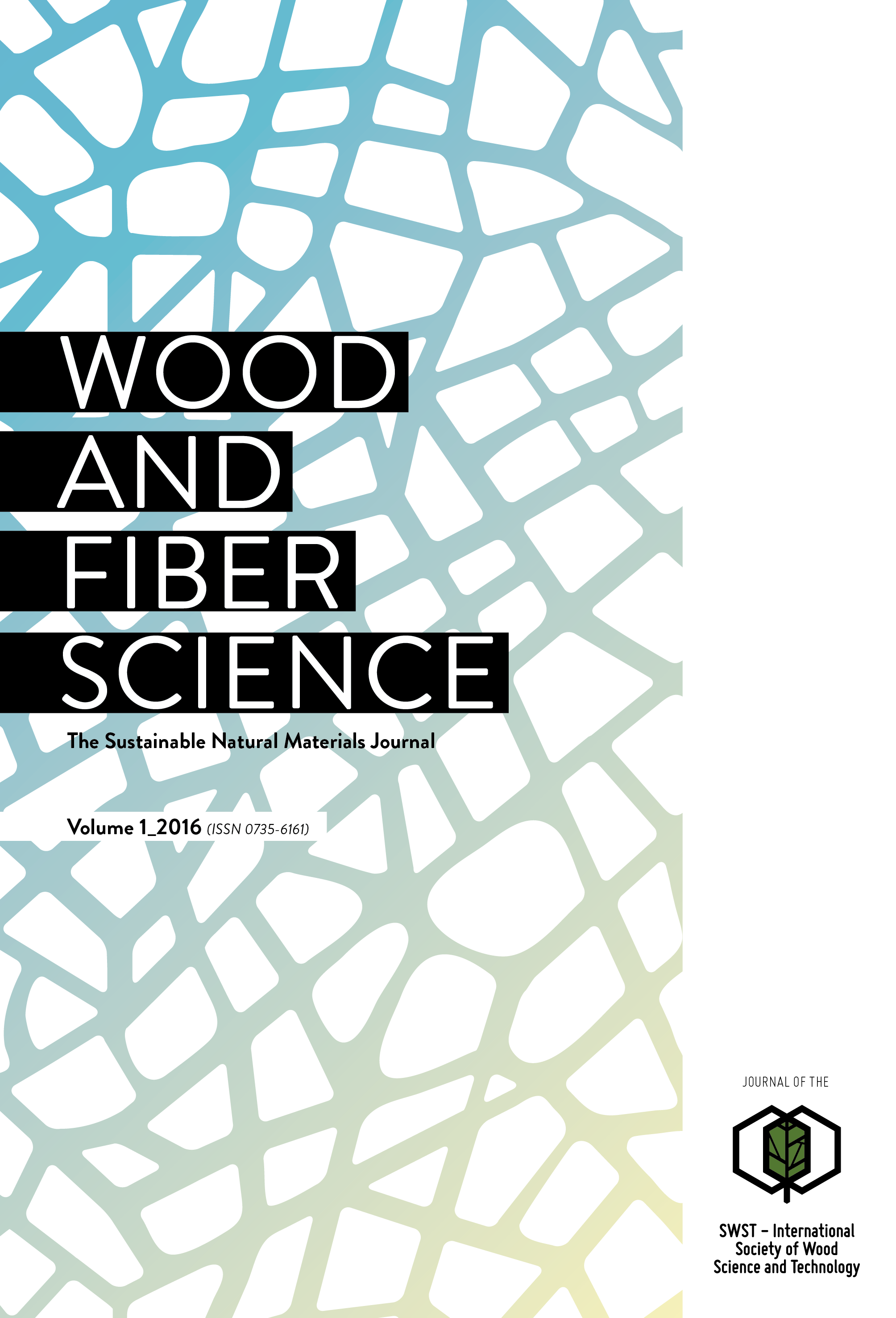Back Issues of Wood & Fiber Science