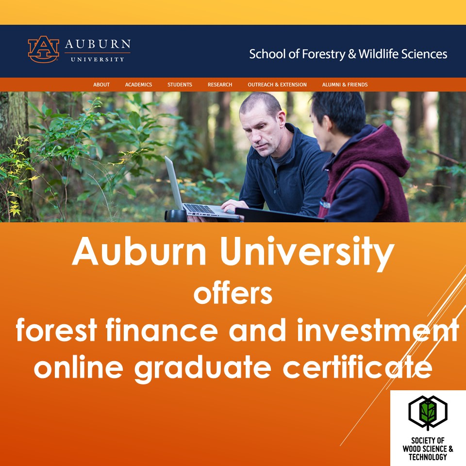 Auburn Universitys School Of Forestry And Wildlife Sciences Is
